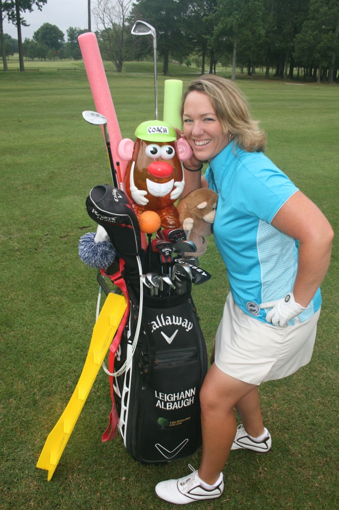 Leighann Albaugh & Coach Potato Head