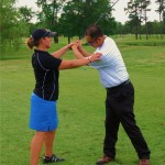 Leighann Albaugh is a PGA golf professional who teaches golf lessons to men, women and children in Richmond Virginia