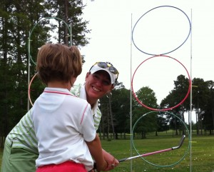 Junior golf in Richmond Virginia is the most fun with PGA golf lessons with PGA professional Leighann Albuagh